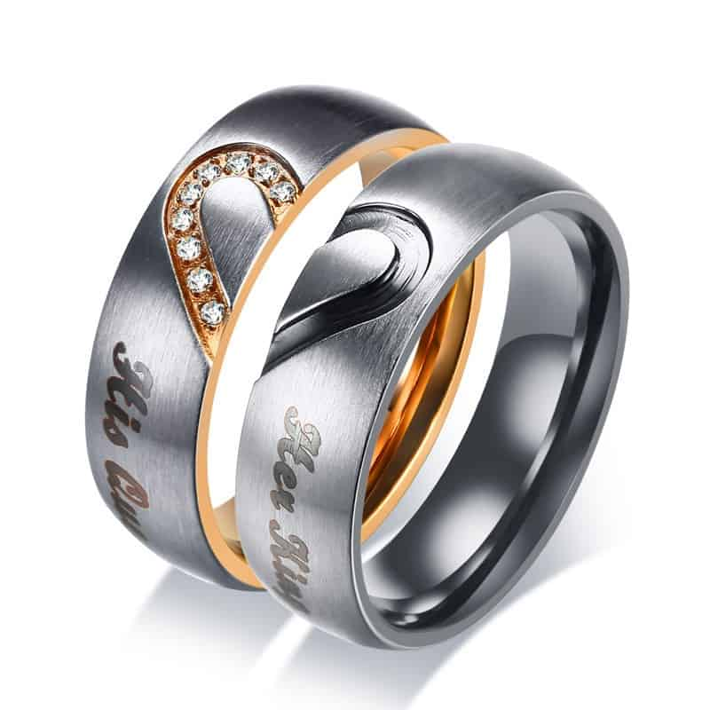 Promise Rings For Couple Elegant Accessory