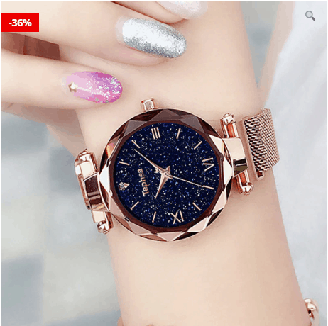 Wristwatches For Women: Thin Water Resistant Quartz
